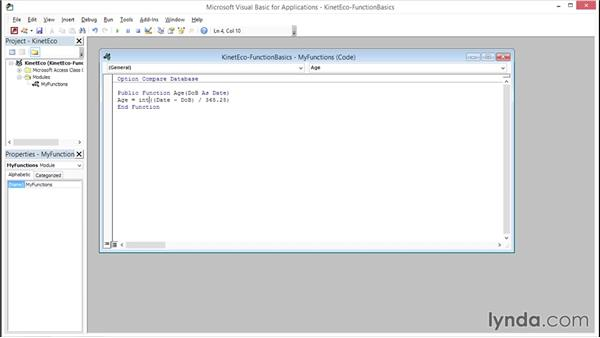 Understanding VBA function basics: Access 2013 Power Tips