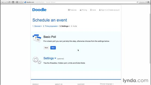 Using Doodle for easy group scheduling: Monday Productivity Pointers