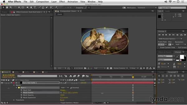 Using detailed analysis: After Effects Guru: Tracking and Stabilizing Footage