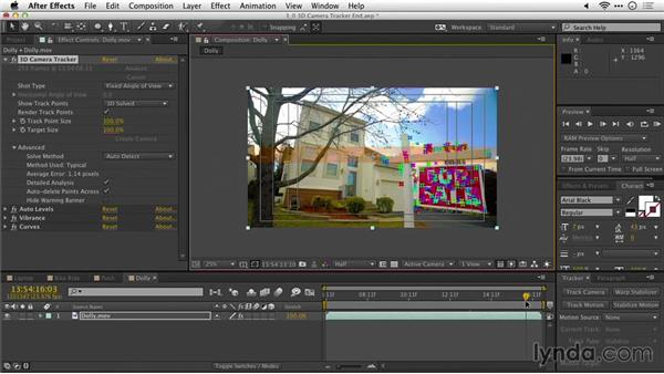 Replacing an object: After Effects Guru: Tracking and Stabilizing Footage