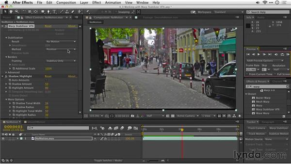 Understanding stabilization methods: After Effects Guru: Tracking and Stabilizing Footage