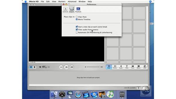 Essential preferences: iMovie HD + iDVD 5 Essential Training