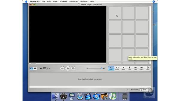 Clips: iMovie HD + iDVD 5 Essential Training