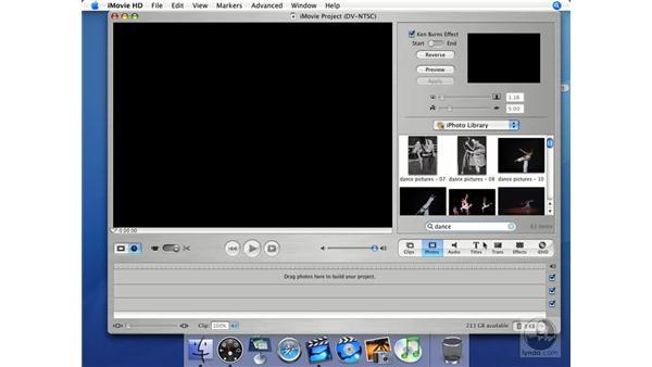 Photos: iMovie HD + iDVD 5 Essential Training