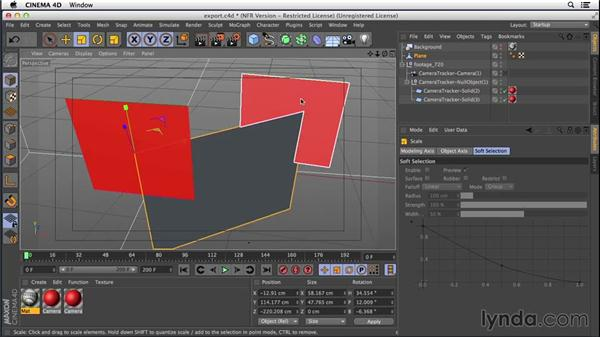 Building the flag and establishing scale: VFX Techniques: Creating a CG Flag with After Effects and CINEMA 4D
