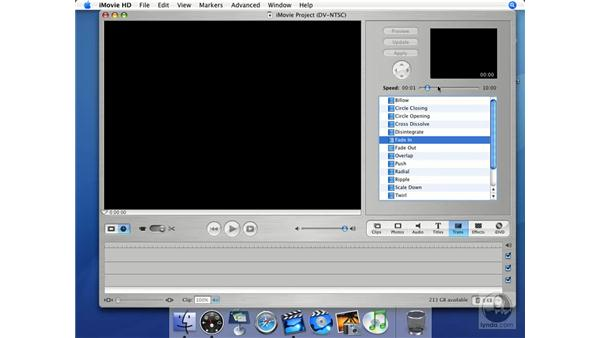 Transitions: iMovie HD + iDVD 5 Essential Training