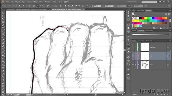 336 Drawing a hand (clenched in a fist): Deke's Techniques