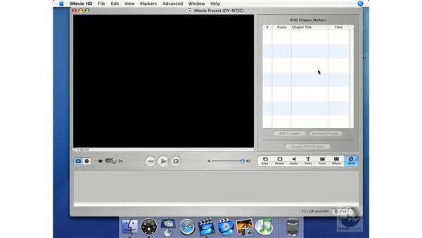 iDVD: iMovie HD + iDVD 5 Essential Training