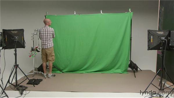 Mounting the green screen: Pro Video Tips