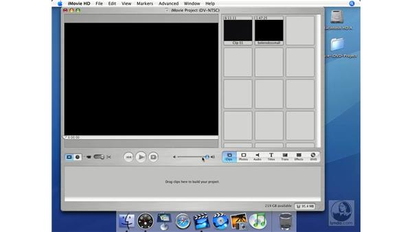 Getting movies from analog sources: iMovie HD + iDVD 5 Essential Training