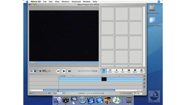 Rearranging: iMovie HD + iDVD 5 Essential Training