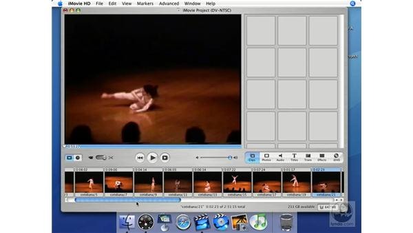Composing: iMovie HD + iDVD 5 Essential Training