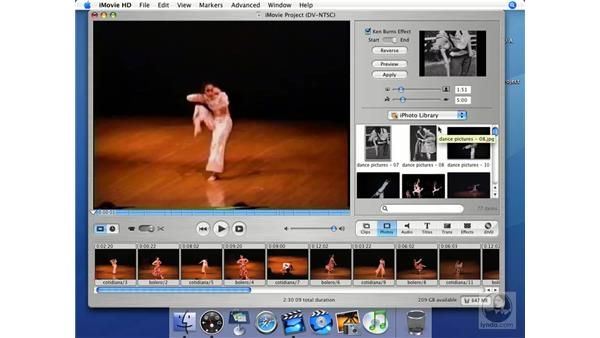 iPhoto with iMovie and iDVD: iMovie HD + iDVD 5 Essential Training