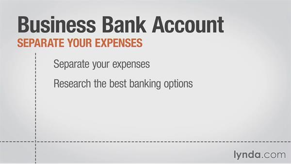 Opening a business bank account: Running a Web Design Business: Defining Your Business Structure