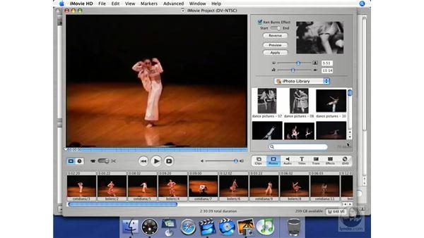 Metadata: iMovie HD + iDVD 5 Essential Training
