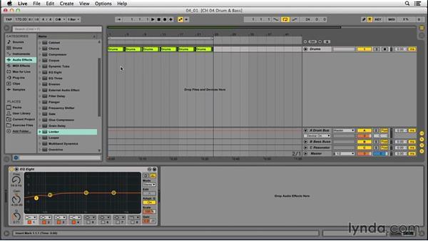 Drum-and-bass beats: EDM Production Techniques: Basslines