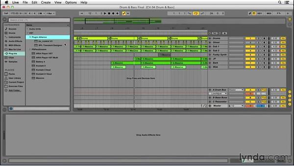 Basic drum-and-bass mixing techniques: EDM Production Techniques: Basslines