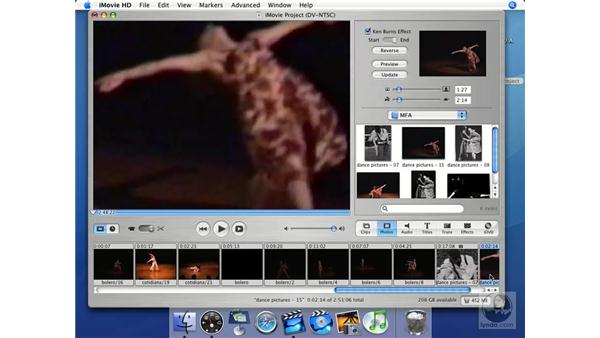 The Ken Burns effect: iMovie HD + iDVD 5 Essential Training
