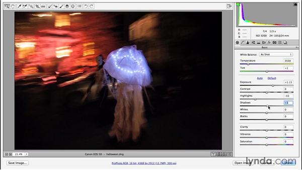 Setting overall tonal balance and contrast: Enhancing Night and Low-Light Photos with Photoshop