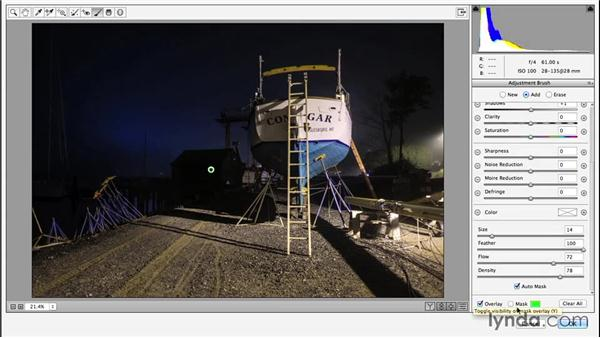 Adjusting a 32-bit HDR file in Camera Raw: Enhancing Night and Low-Light Photos with Photoshop