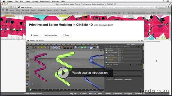 What you should know before watching this course: Digital Product Photography with CINEMA 4D