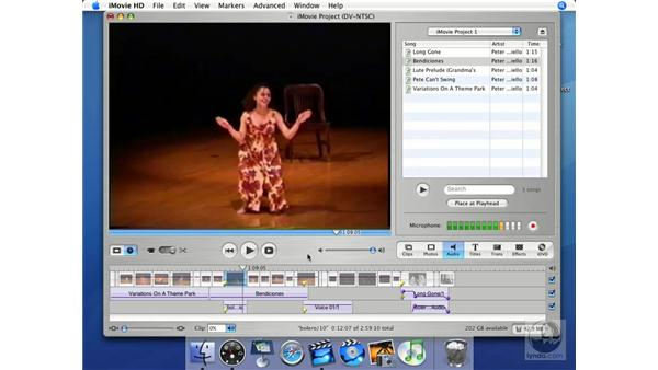 How to achieve good voice results: iMovie HD + iDVD 5 Essential Training