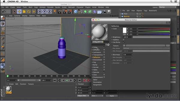 Creating a basic studio: Digital Product Photography with CINEMA 4D