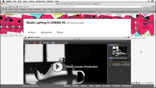 Next steps: Digital Product Photography with CINEMA 4D