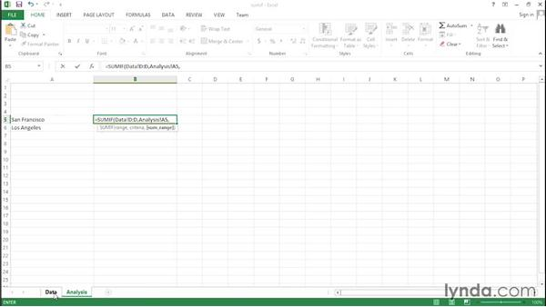 Using the SUMIF function: Financial Analysis: Analyzing the Top Line with Excel