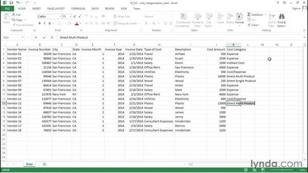 Categorizing expenditures: Financial Analysis: Analyzing the Bottom Line with Excel