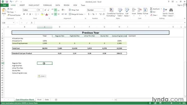 Adding standard costs to your revenue database: Financial Analysis: Analyzing the Bottom Line with Excel
