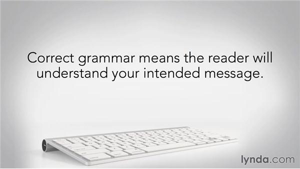 Why does grammar matter?: Grammar Fundamentals