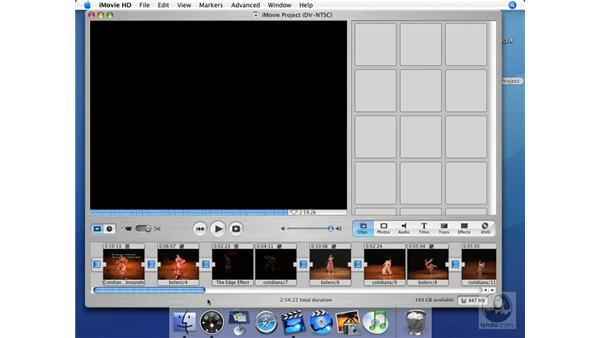 Videotape: iMovie HD + iDVD 5 Essential Training