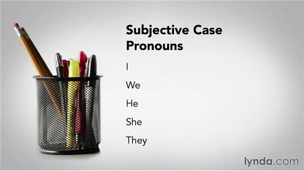 Pronoun cases: Grammar Fundamentals