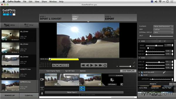 Using GoPro Studio as a standalone application: Preparing GoPro Footage for Editing