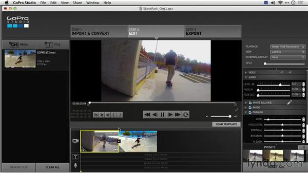 Adding effects before conversion: Preparing GoPro Footage for Editing