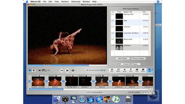 The importance of backing up: iMovie HD + iDVD 5 Essential Training