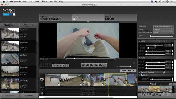 Goodbye: Preparing GoPro Footage for Editing