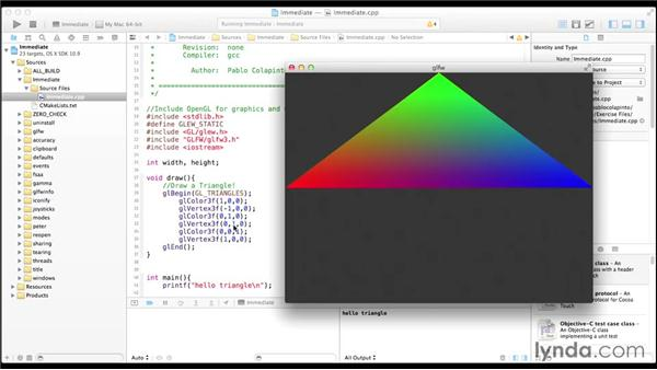 Drawing geometric primitives: Up and Running with OpenGL