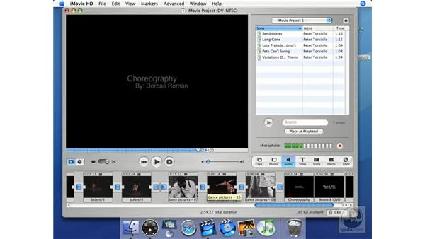 Narrate: iMovie HD + iDVD 5 Essential Training