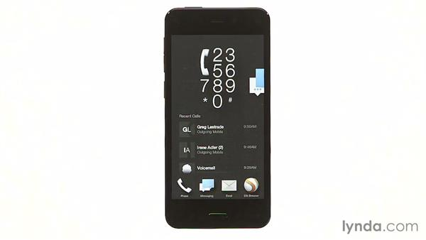 Introducing the user interface: Amazon Fire Phone First Look