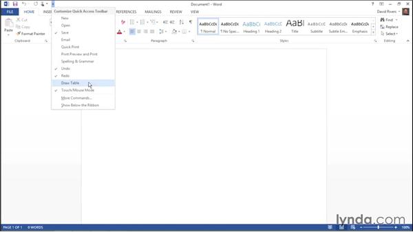 Customizing the Quick Access Toolbar: Migrating from Office 2010 to Office 2013