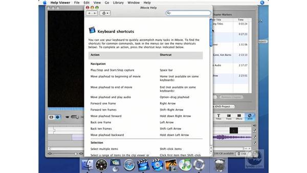 Help!: iMovie HD + iDVD 5 Essential Training