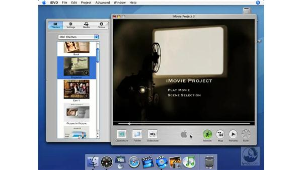 Themes: iMovie HD + iDVD 5 Essential Training