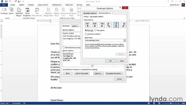 Creating envelopes and labels in Word: Weekly Office Workshop