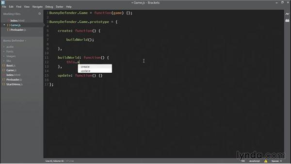 Building the world: HTML5 Game Development with Phaser