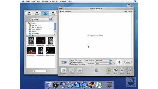 Slideshows: iMovie HD + iDVD 5 Essential Training