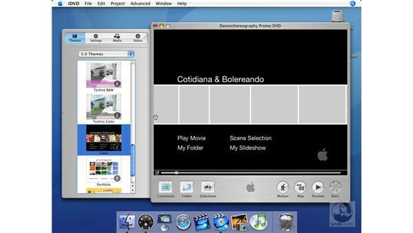 The Apple watermark: iMovie HD + iDVD 5 Essential Training