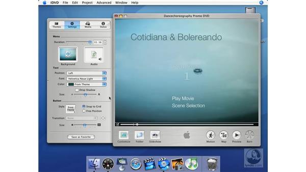 Custom theme creation in three easy steps: iMovie HD + iDVD 5 Essential Training