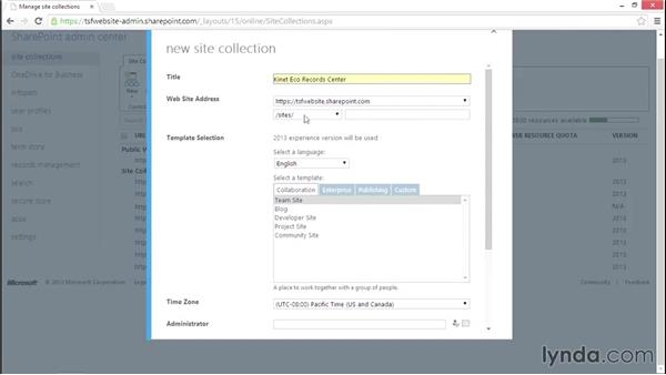 Create a Records Center: Managing Records in SharePoint